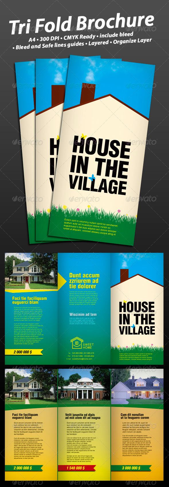 House in the Village - Corporate Brochures