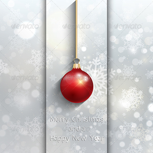 Christmas Baubles Background - Christmas Seasons/Holidays