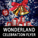 Winter Wonderland Celebration Flyer Template - GraphicRiver Item for Sale
