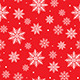 Seamless Background with Snowflake Design - GraphicRiver Item for Sale