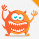 Monster Cat Logo - GraphicRiver Item for Sale