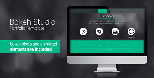 Bokeh Studio - Creative Muse Templates
