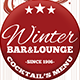 Winter Bar And Lounge Menu - GraphicRiver Item for Sale