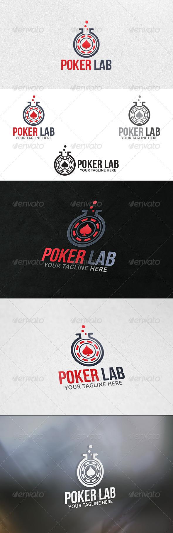 Poker Lab - Logo Template - Symbols Logo Templates