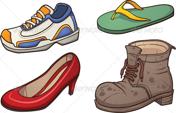Footwear - Man-made Objects Objects