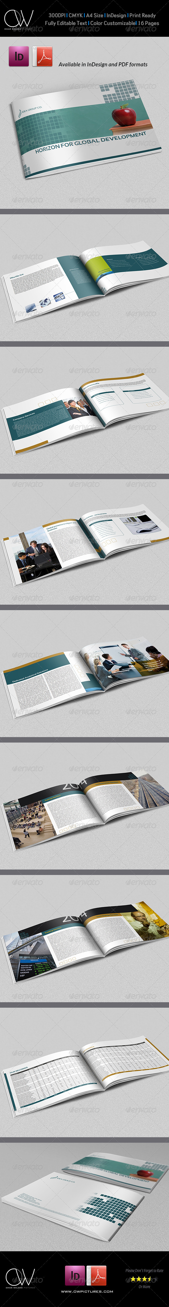 Corporate Brochure Template Vol.15 - 16 Pages - Corporate Brochures