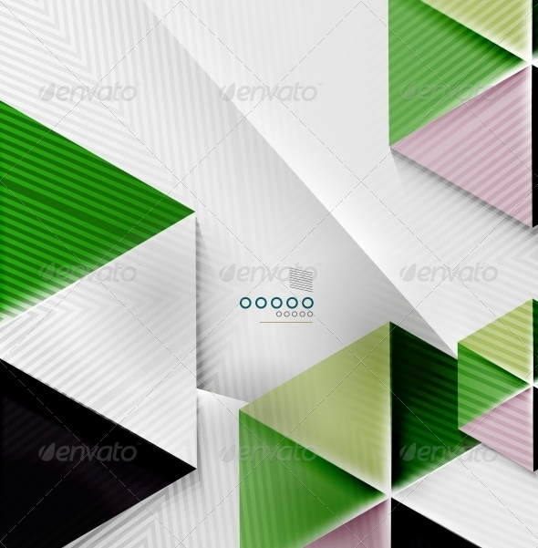 Hexagon Business Paper Geometric Shape - Backgrounds Business
