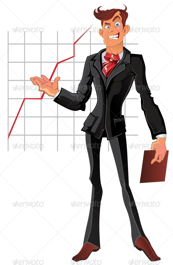 Presentation Businessman - People Characters