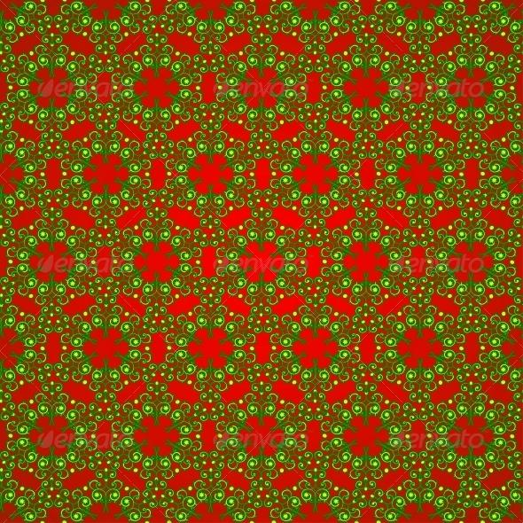 Seamless Snowflake Pattern - Christmas Seasons/Holidays