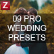 9 Pro Wedding Presets - GraphicRiver Item for Sale