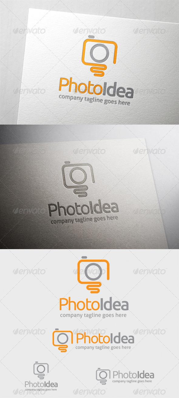 Photo Idea Logo - Symbols Logo Templates