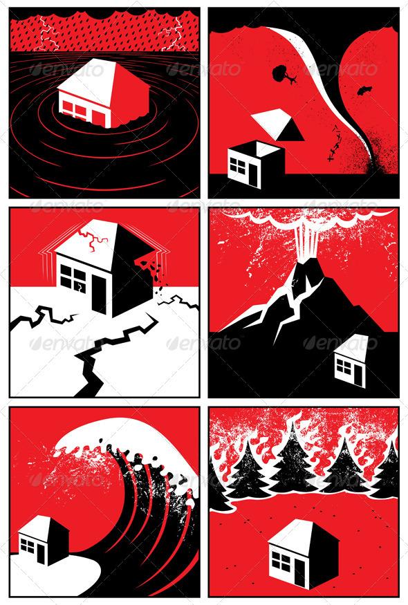 Natural Disasters - Nature Conceptual