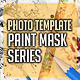 Paint Mask Photo Template v1