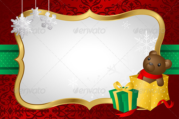 Christmas Shopping Background - Decorative Vectors