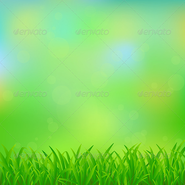 Natural Green Background - Nature Conceptual