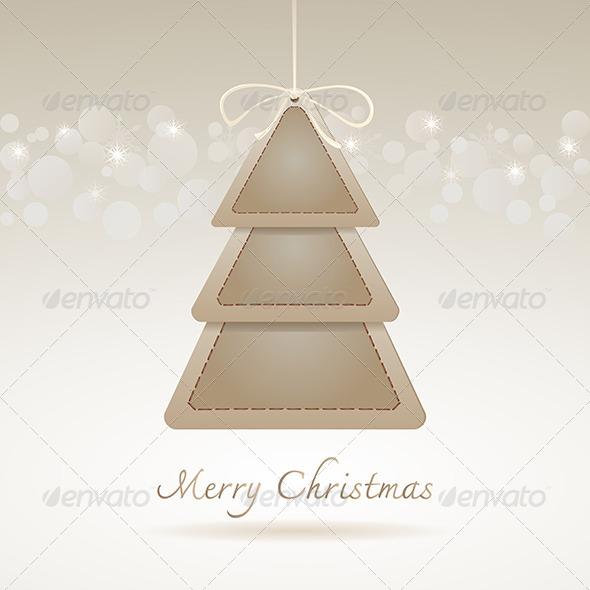 Abstract Christmas Tree - Christmas Seasons/Holidays