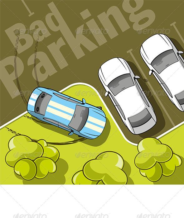 Bad Parking - Conceptual Vectors