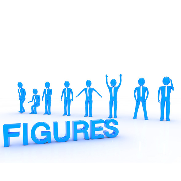 Business Figures - 3DOcean Item for Sale