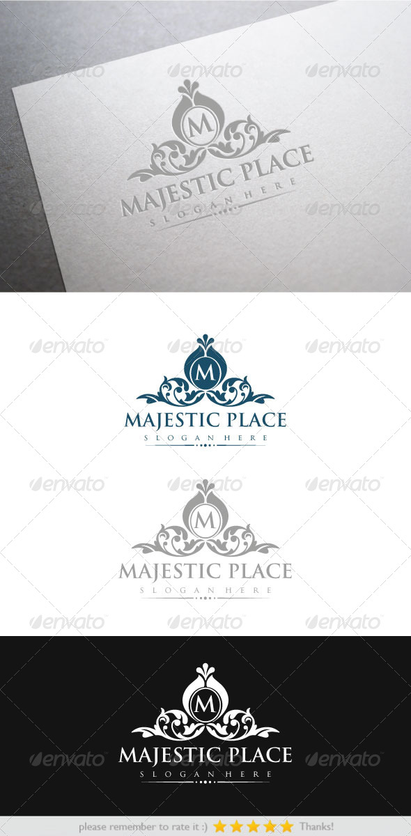 Majestic Place - Vector Abstract