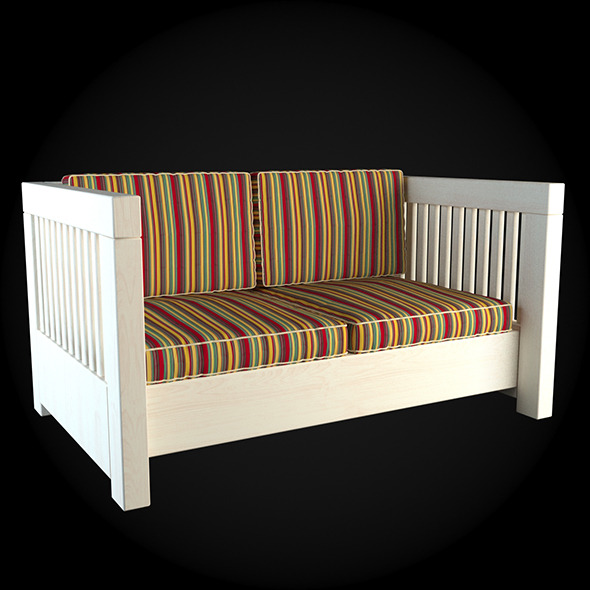 Garden Furniture 006 - 3DOcean Item for Sale