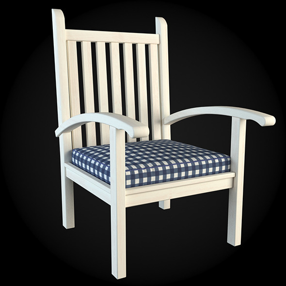 Garden Furniture 009 - 3DOcean Item for Sale