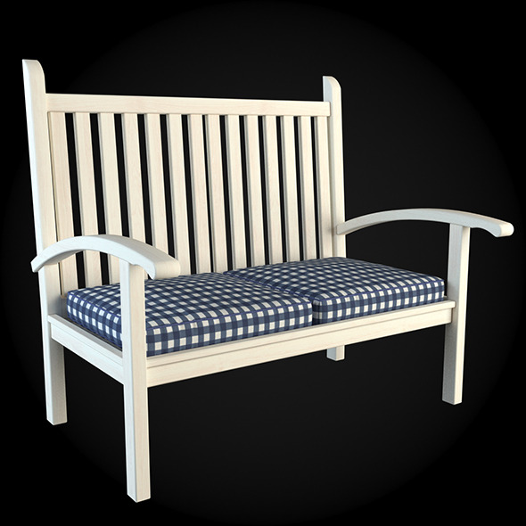 Garden Furniture 010 - 3DOcean Item for Sale