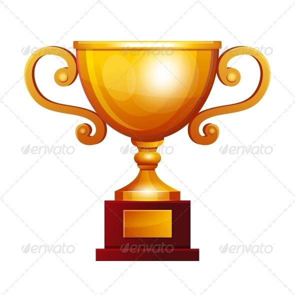 Winner Golden Cup - Miscellaneous Vectors