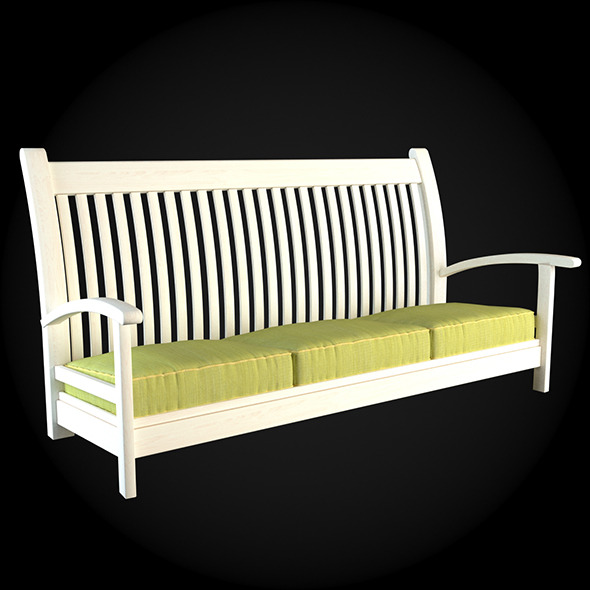 Garden Furniture 015 - 3DOcean Item for Sale