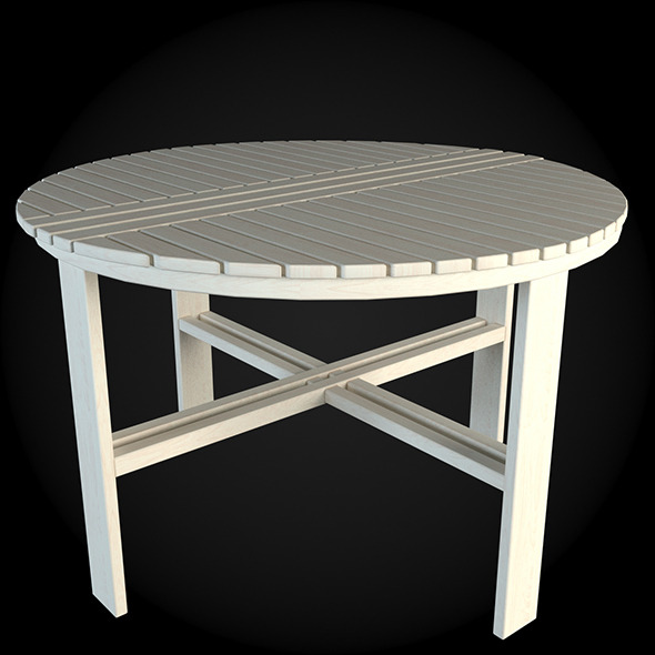 Garden Furniture 025 - 3DOcean Item for Sale