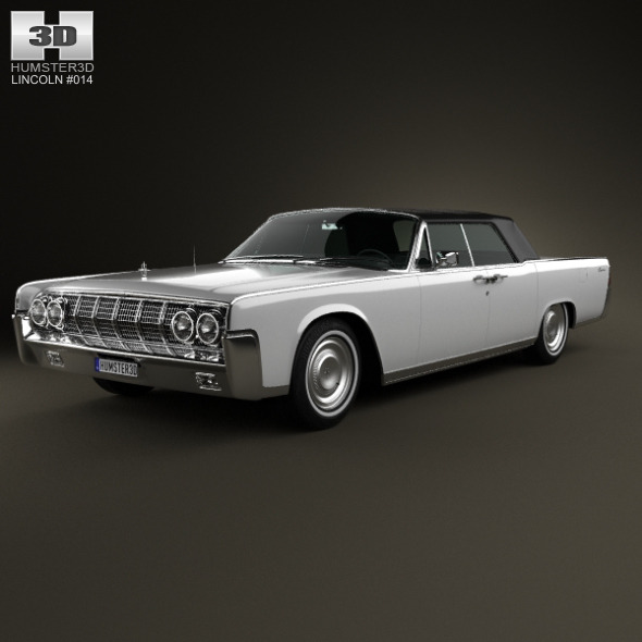 Lincoln Continental convertible 1964 - 3DOcean Item for Sale