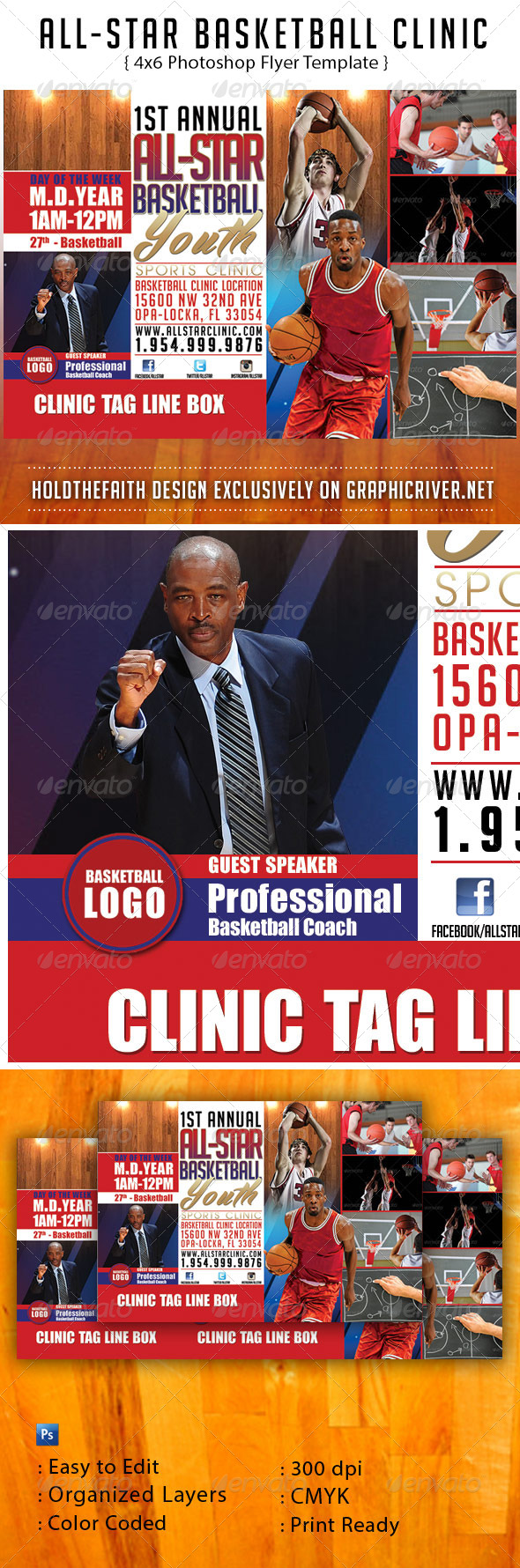 All-Star Basketball Clinic - Sports Events