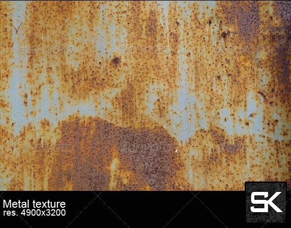 Rusty Metal - Metal Textures