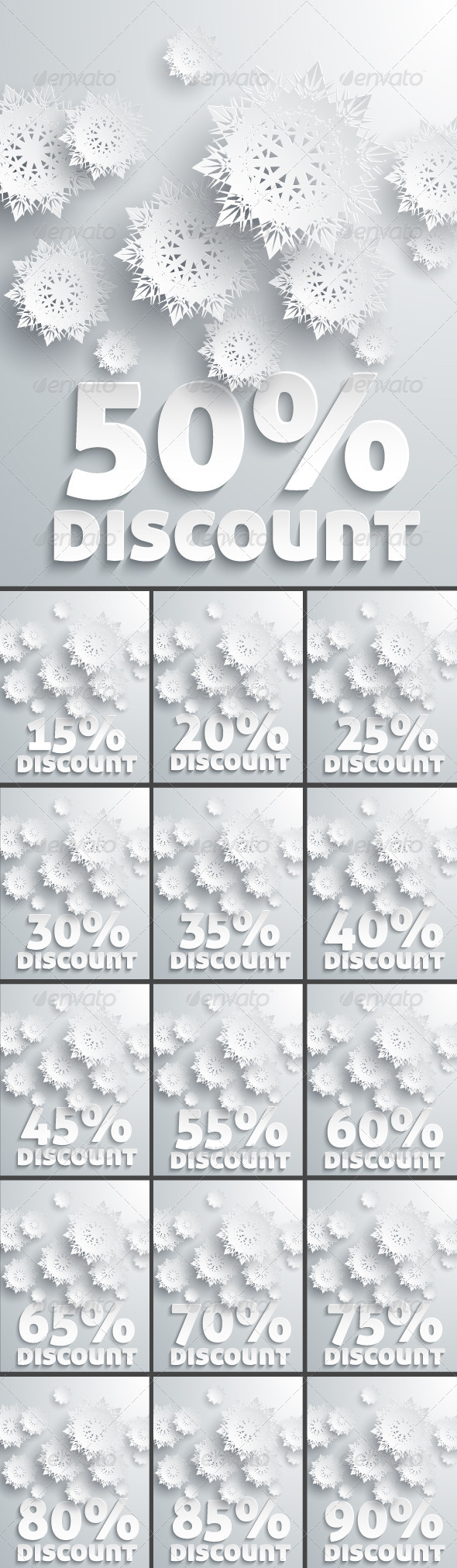 Discount Percent with Snowflake - Retail Commercial / Shopping