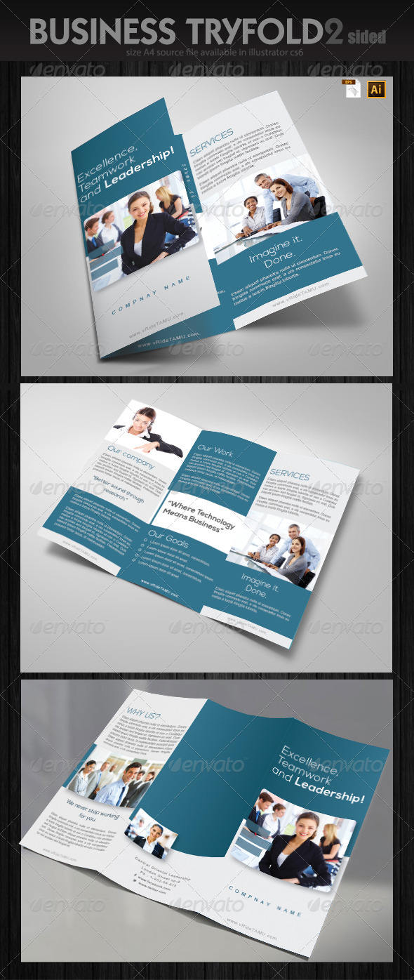 Services Trifold Brochure - Informational Brochures