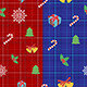 Scottish Christmas Pattern - GraphicRiver Item for Sale