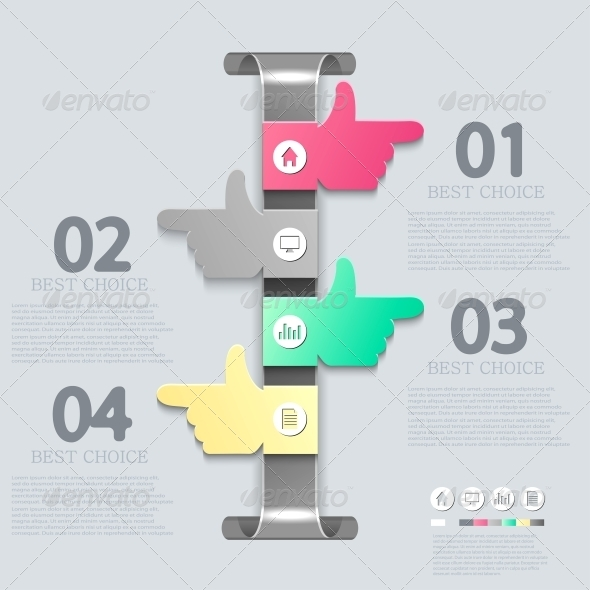 Vector Infographic Design - Backgrounds Business