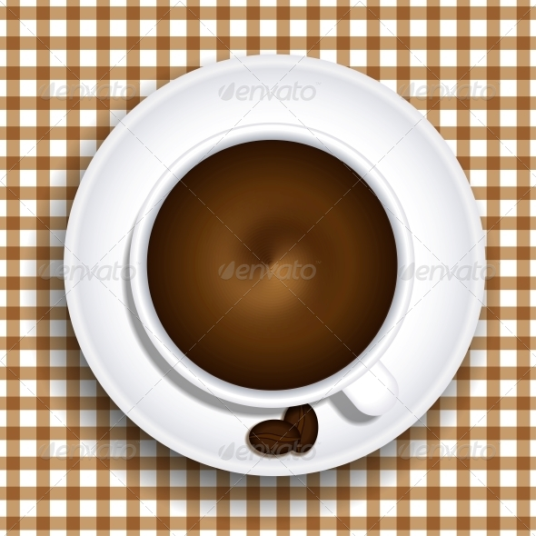 Cup of Coffee - Food Objects
