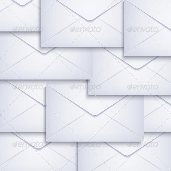 Vector Envelope Background - Miscellaneous Vectors