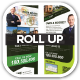 Bid Yup Estate Sale Roll Up Banners - GraphicRiver Item for Sale