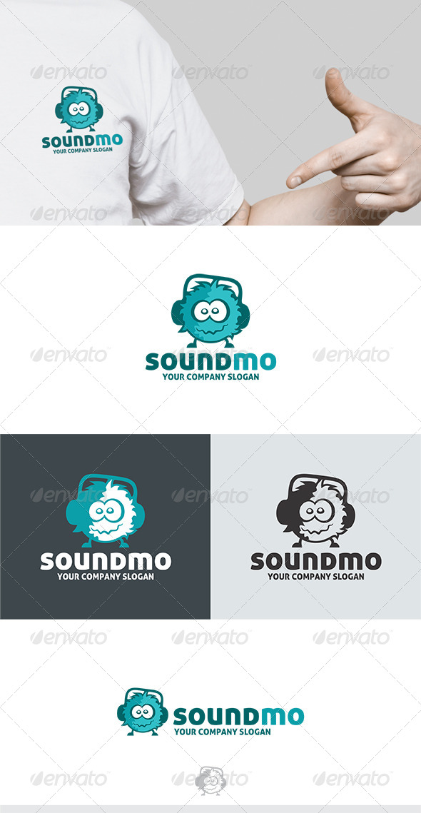 Sound Mo Logo - Vector Abstract