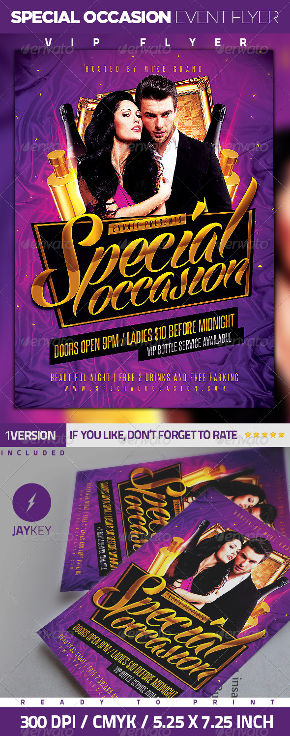 Special Occasion Event Flyer - Events Flyers