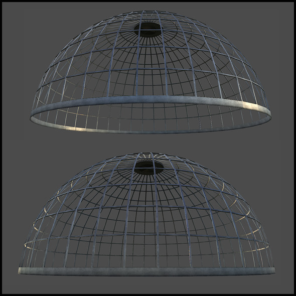 Metal Dome Structure - 3DOcean Item for Sale