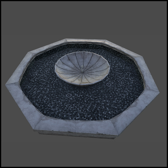 Fountain Well - 3DOcean Item for Sale