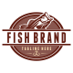 Fish Brand Logo Template - GraphicRiver Item for Sale