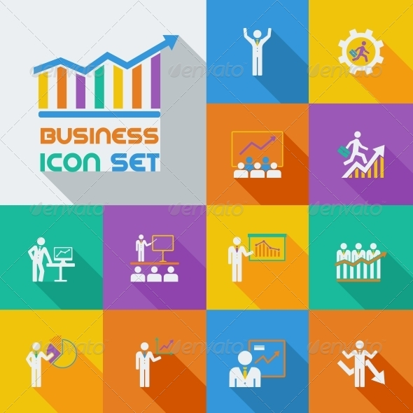 Business Infographic Template. - Web Elements Vectors