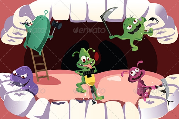 Teeth Cavity - Health/Medicine Conceptual