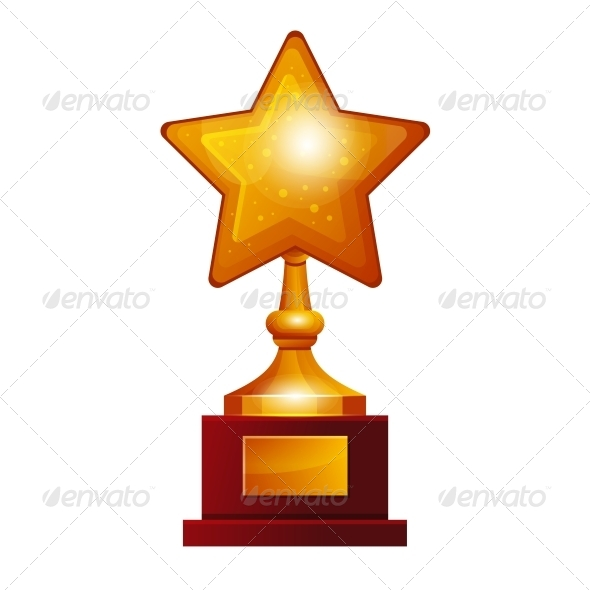 Winner Golden Star - Miscellaneous Vectors