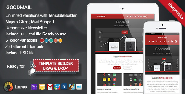GoodMail – Responsive E-mail Template