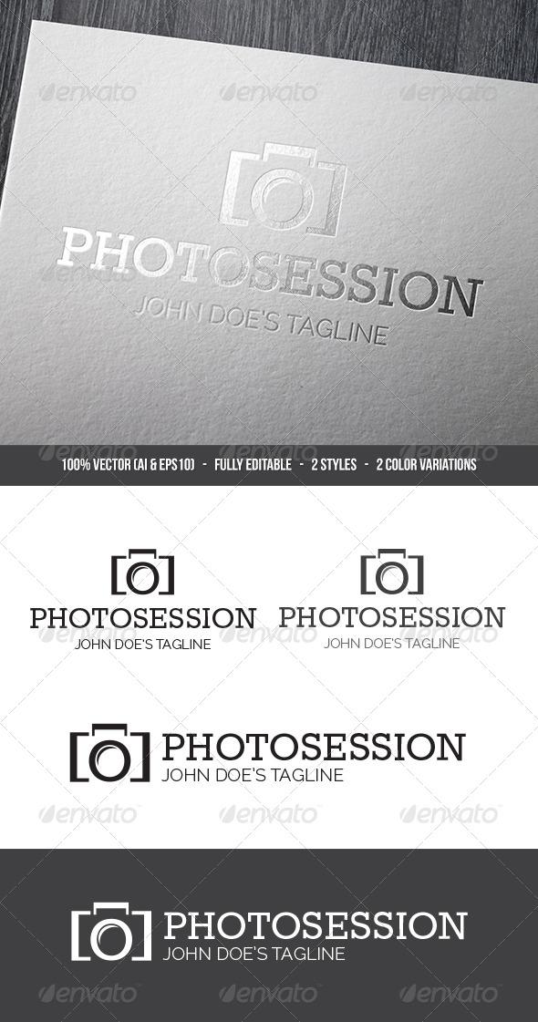 Photosession Logo - Symbols Logo Templates