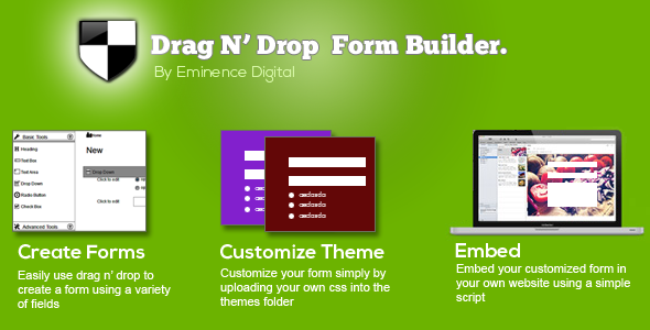 Drag N' Drop Form-builder - CodeCanyon Item for Sale